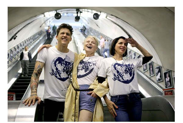 Save the Arctic by Vivienne Westwood and Greenpeace